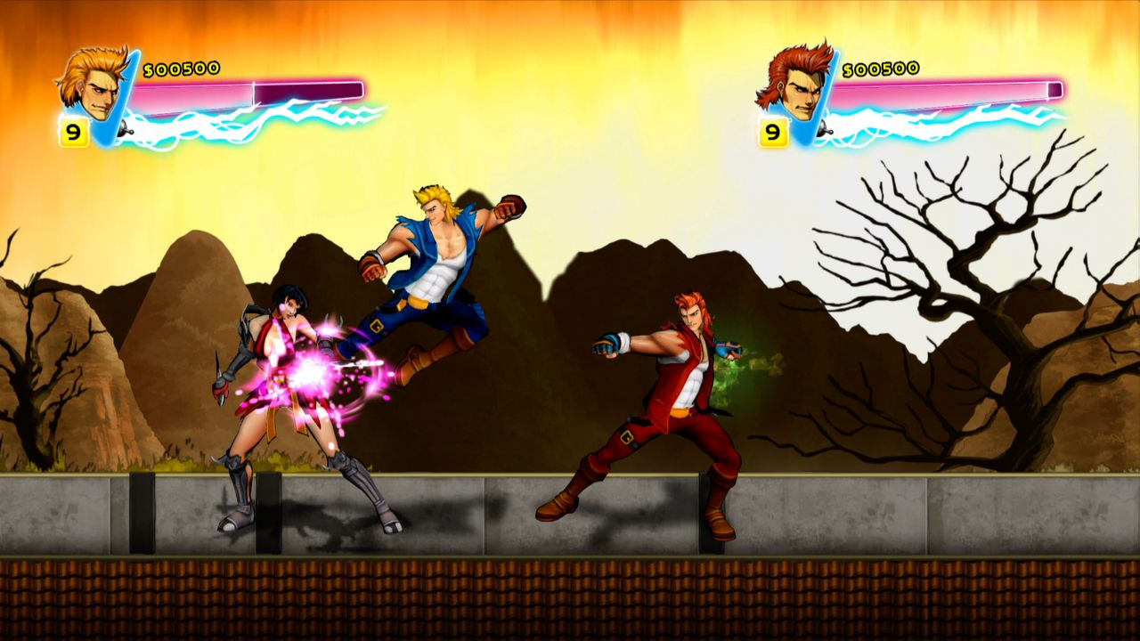 Double Dragon Neon Wayforward