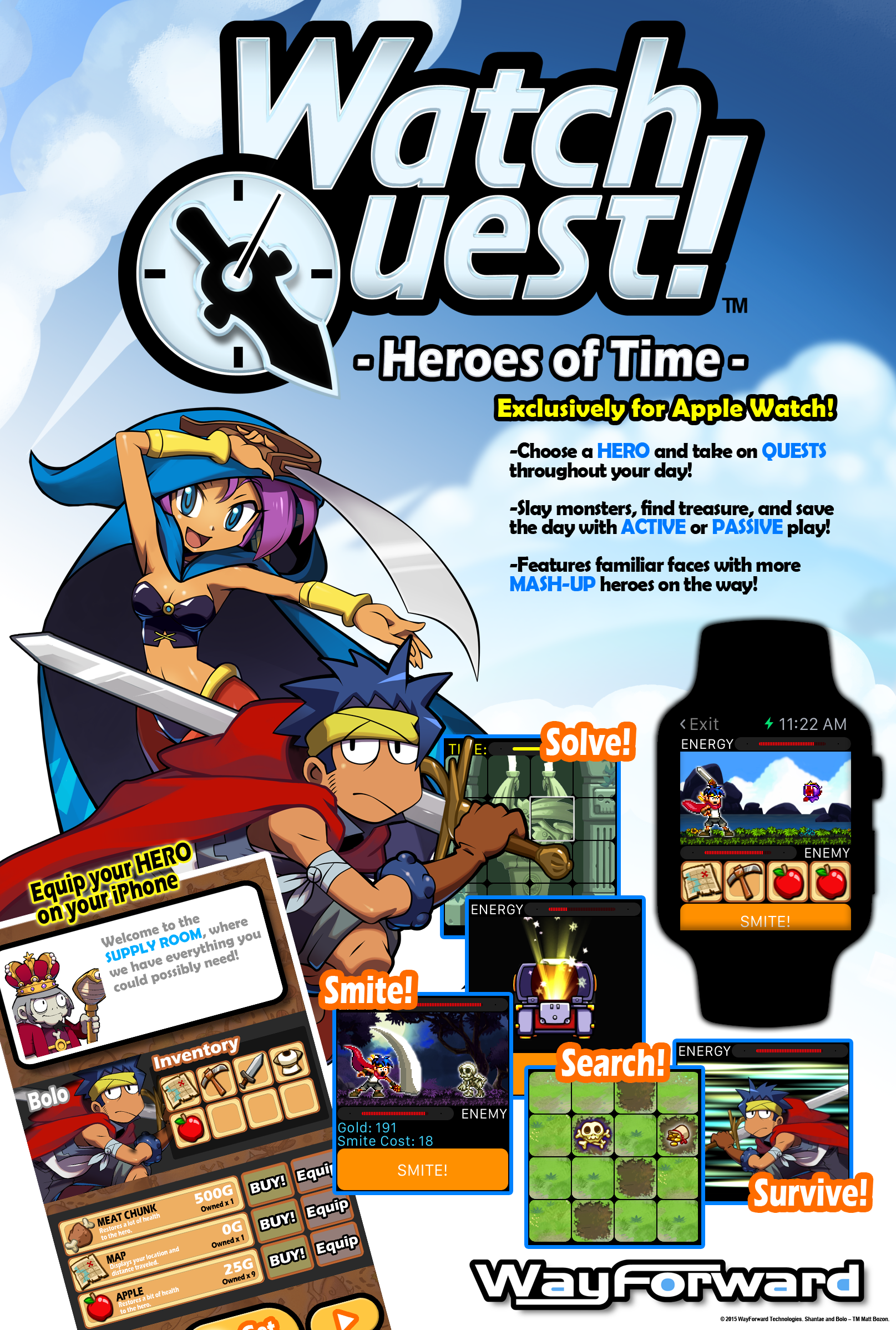 APPROVED FOR RELEASE_ Watch Quest One Sheet