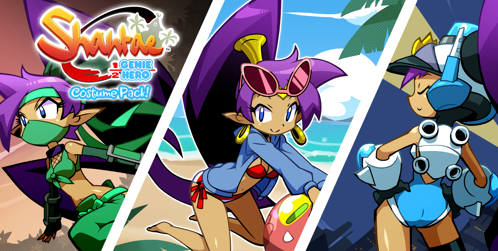 Shantae: Costume Pack